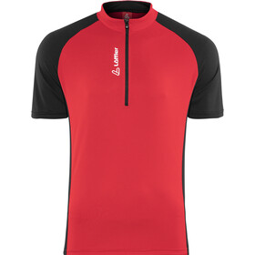 Löffler Rocky Bike Jersey Half-Zip Men, red